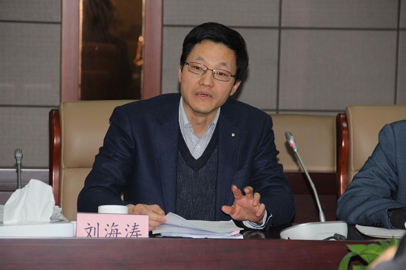 江苏省纪委法规研究室主任刘海涛