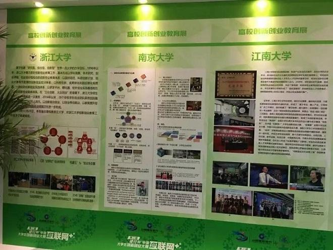 江南大学创新创业教育展板